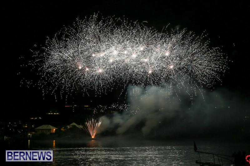 Fireworks-At-Christmas-Boat-Parade-Bermuda-December-12-2015-31