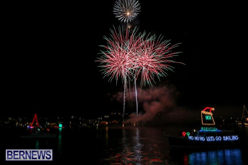 Fireworks-At-Christmas-Boat-Parade-Bermuda-December-12-2015-33