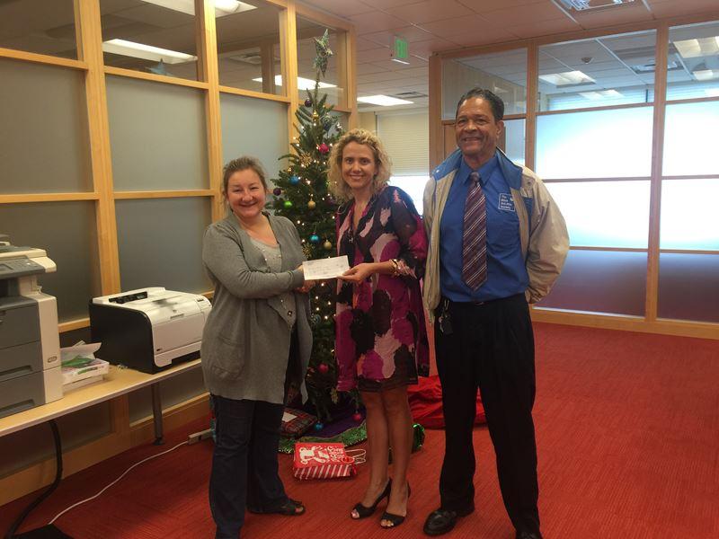 Hannover Donates To Eliza Dolittle Society (2)