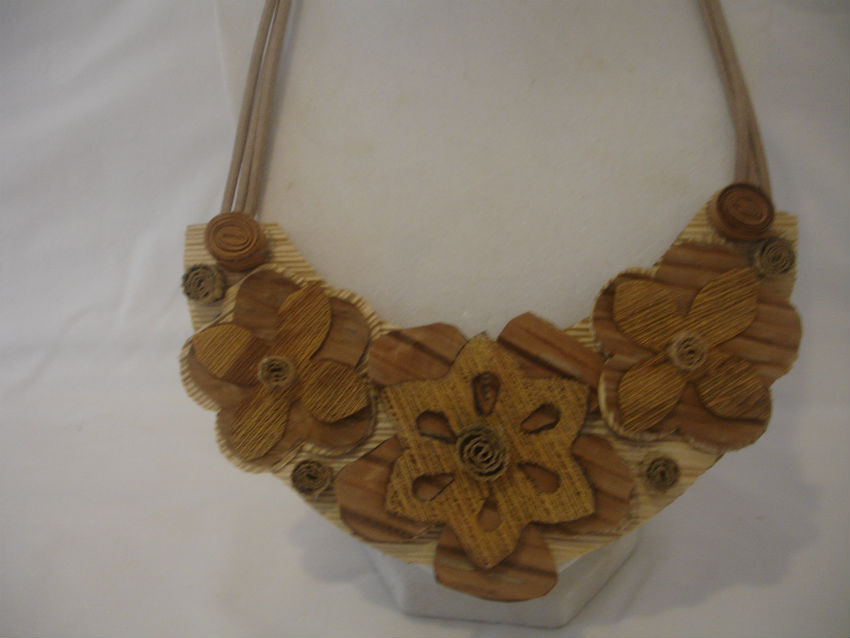 Jewerly crafted from Royal Palm Bark