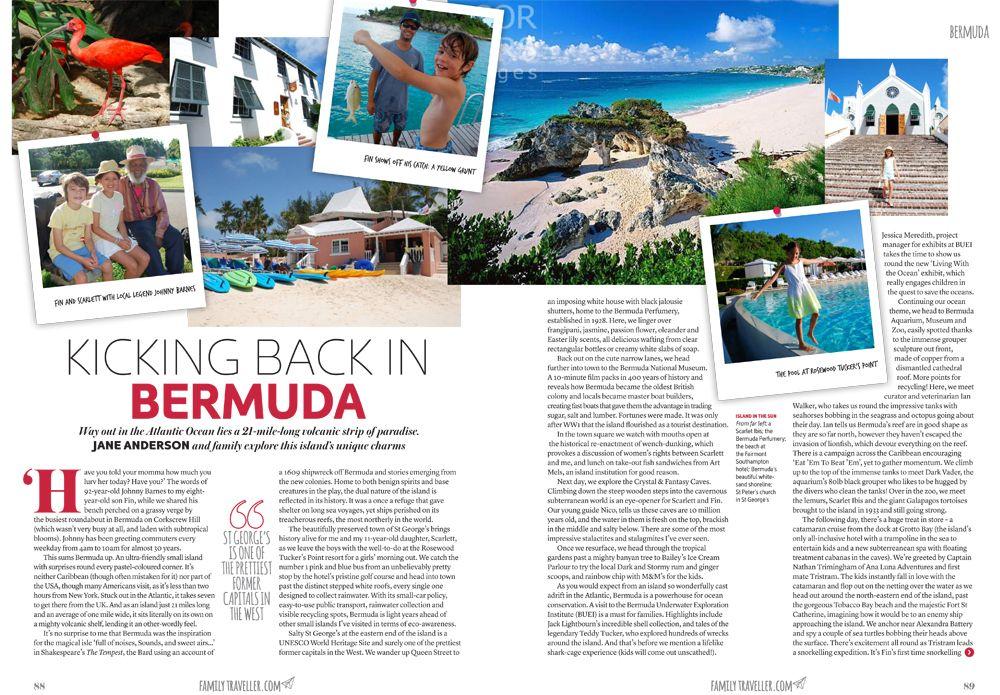 Kicking back in Bermuda Dec 1 2015 1