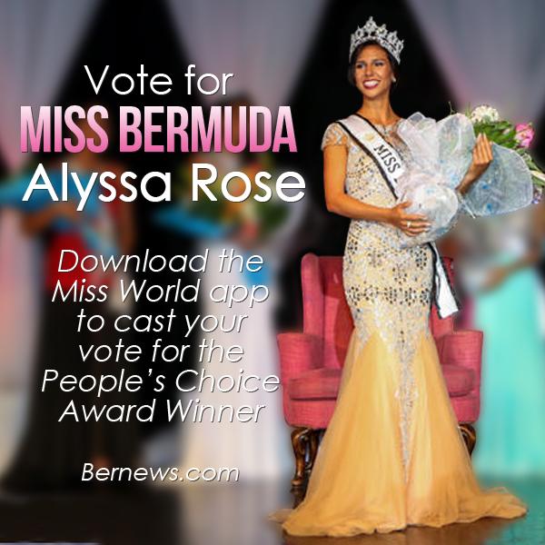 Ms World 2015 Miss bermuda alyssa rose IG