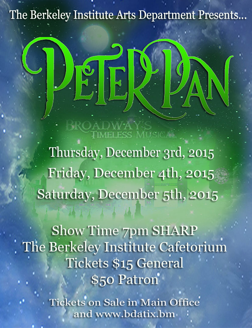 Peter Pan Show Bermuda Dec 2 2015
