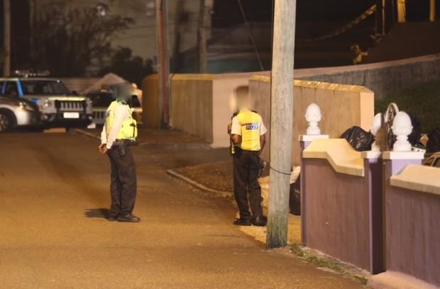 Police At Shooting Scene
