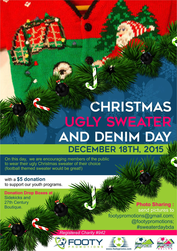 Ugly Christmas Sweater Day Bermuda Dec 4 2015