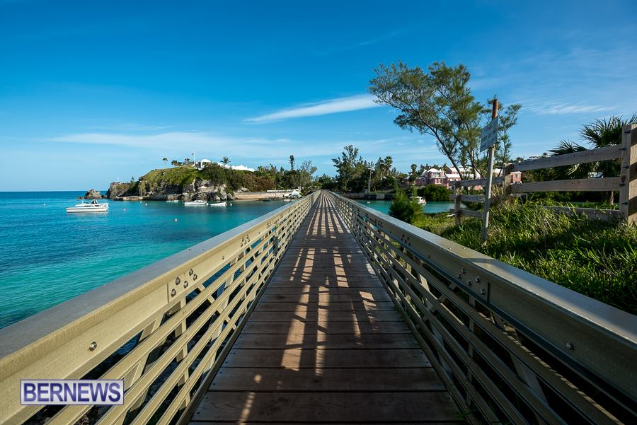 608 walkway at Baileys Bay Bermuda Generic January 2016