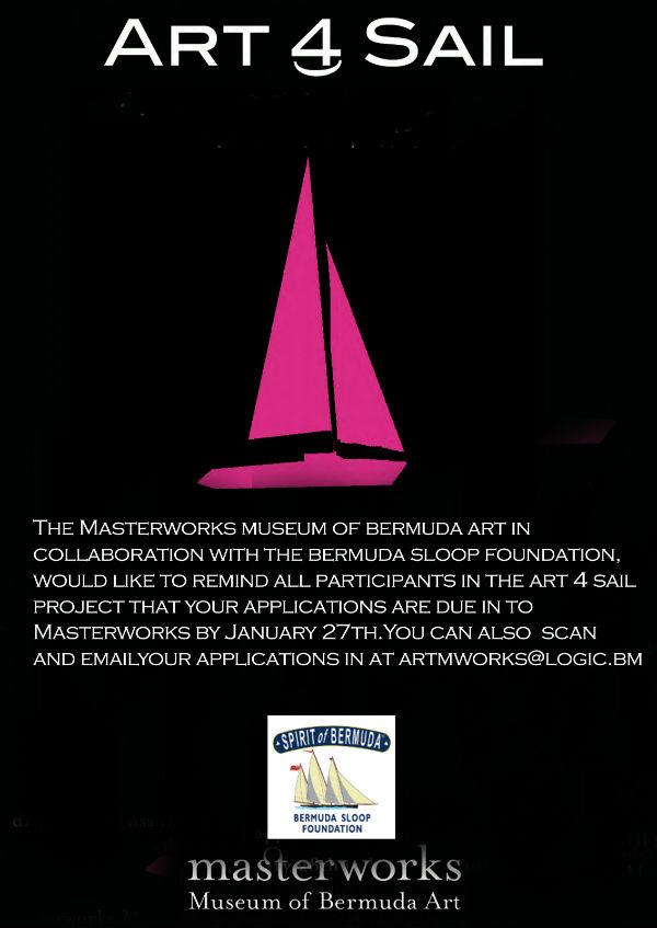 Art 4 Sail reminder Flyer
