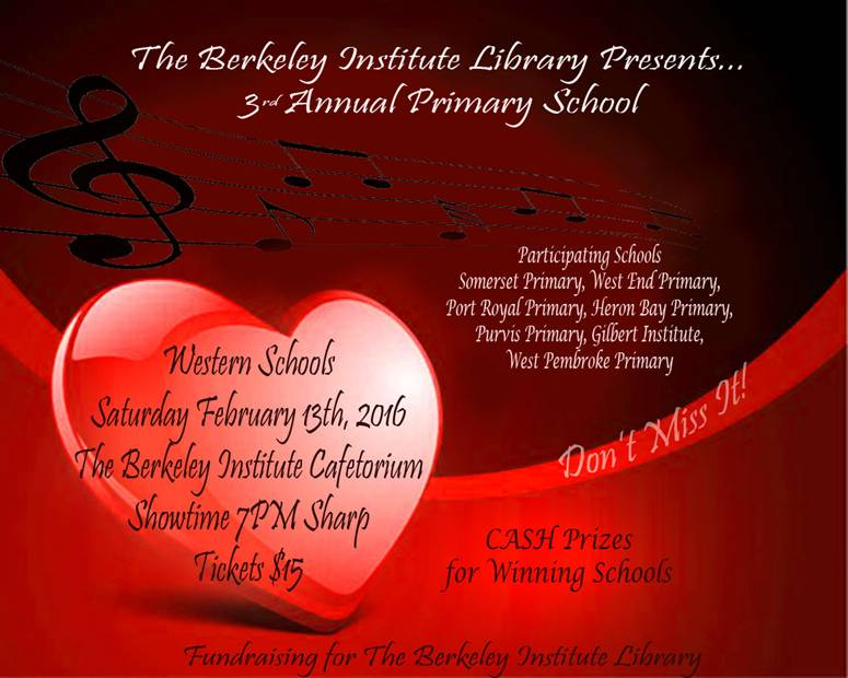 Berkeley Institute Library- Primary School Choir Competition