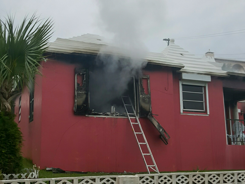 House Fire Bermuda, January 6 2016-3