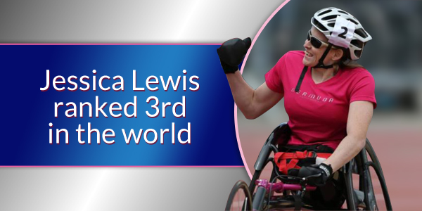 Jessica Lewis ranked 3rd in the world TC Jan 4 2016