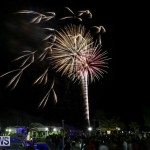 New Years Eve Fireworks St George's Bermuda, December 31 2015-10