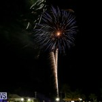 New Years Eve Fireworks St George's Bermuda, December 31 2015-6