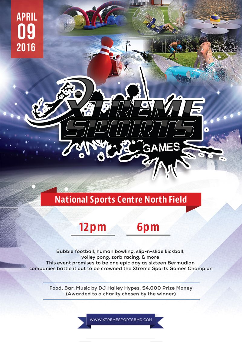 Xtreme sports games 2016 Bermuda Jan 6 2016