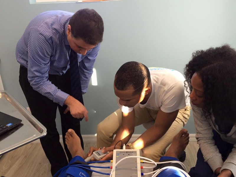 Yale Faculty Affiliate Doctor Conducts ABI Training Bermuda Jan 21 2016 (3)