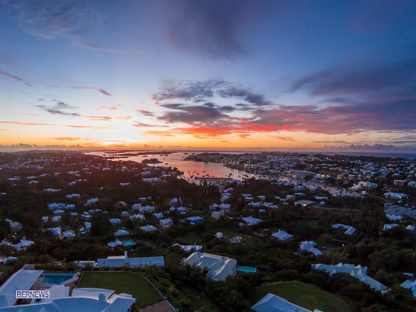 701 Beautiful sunset over Hamilton generic February 2016