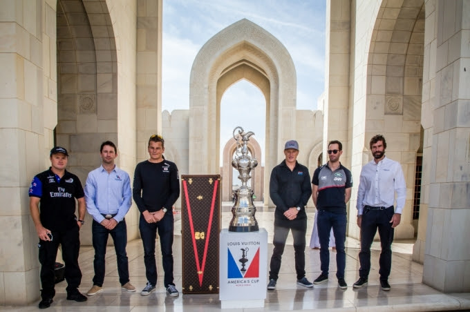 Americas Cup Arrives in Oman Feb 2016 (1)