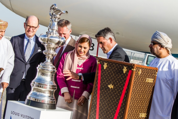 Americas Cup Arrives in Oman Feb 2016 (2)