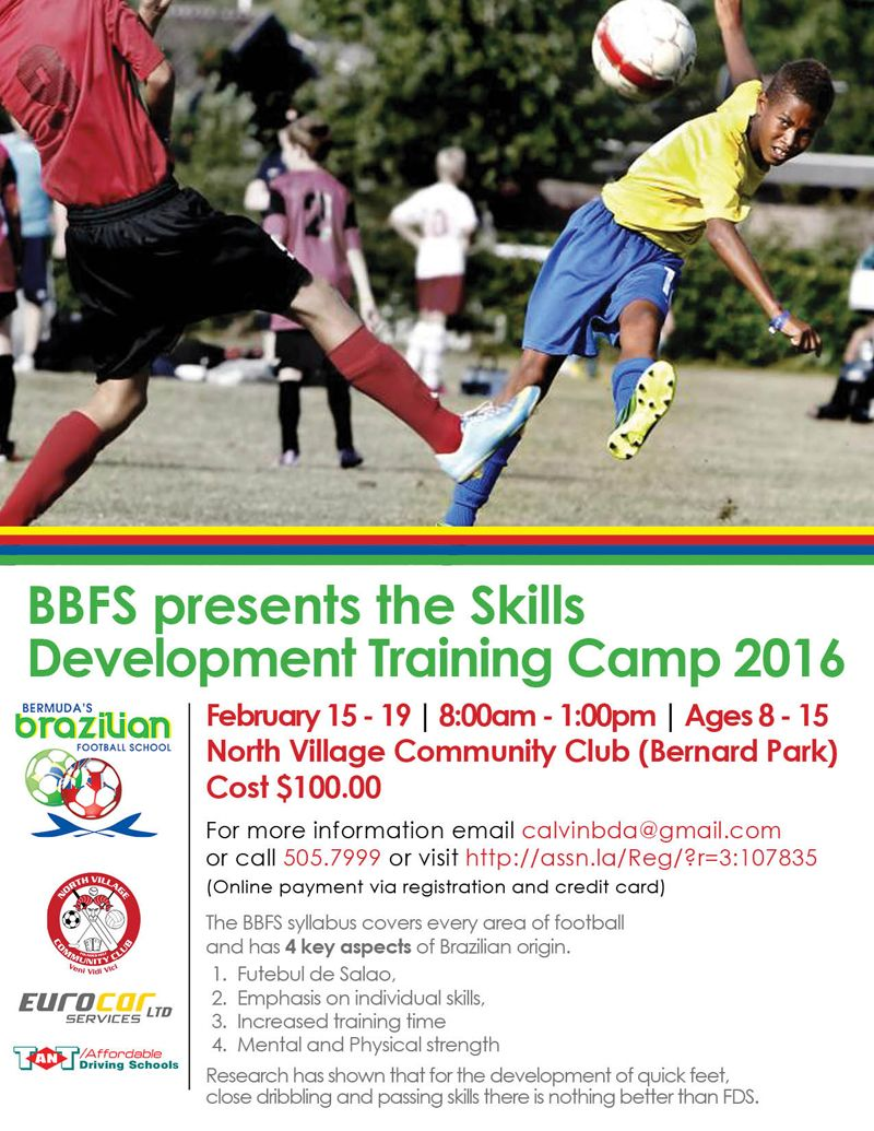 BBFS SkillsDevTrainingCamp 2016
