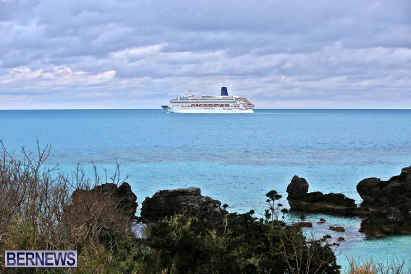 CRUISE SHIP ARRIVAL BERMUDA 2016 FEB (3)