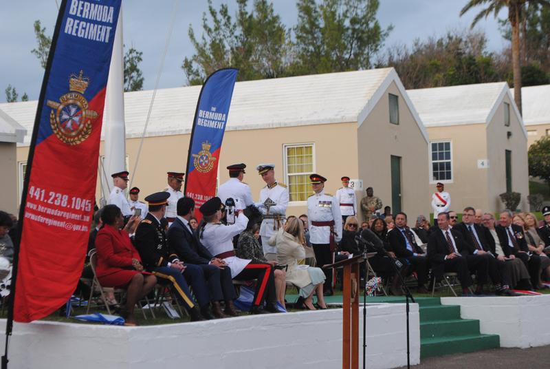 Change of command Bermuda Feb 28 2016 2 2