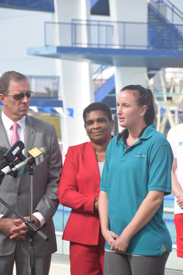 Danish Swim Coach Praises Bermuda Feb 10 2016 (2)