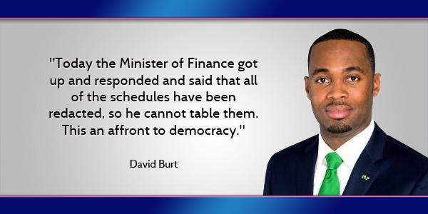 David Burt Bermuda 160214