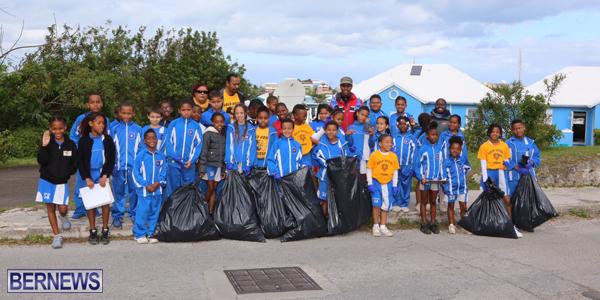 Elliot Primary Students Clean Up Devonshire - Bernews