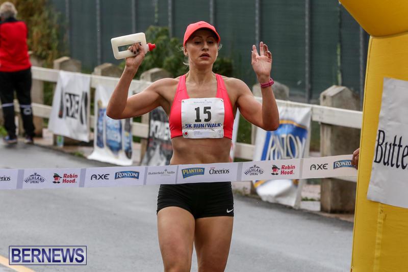 Jennifer Alen Butterfield & Vallis 5K Run Walk Bermuda, February 7 2016