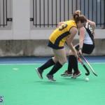 Ravens Vs Canaries Women's Hockey Bermuda Feb 10 2016 (8)