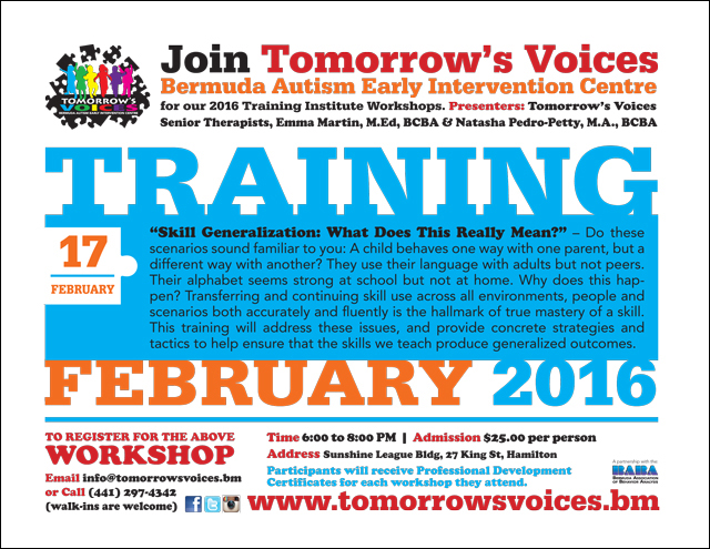 TV-TrainingInst-WS-FEB17'16 Bermuda Feb 5 2016
