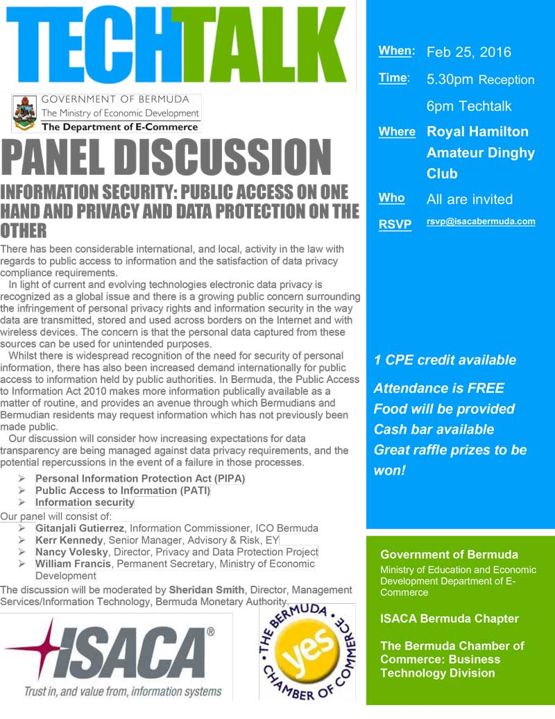 Techtalk FEB 25 - Public Data Access & Privacy Protection