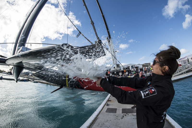 christened Oracle 17 by team member Luciana Corral Bermuda Feb 16 2016