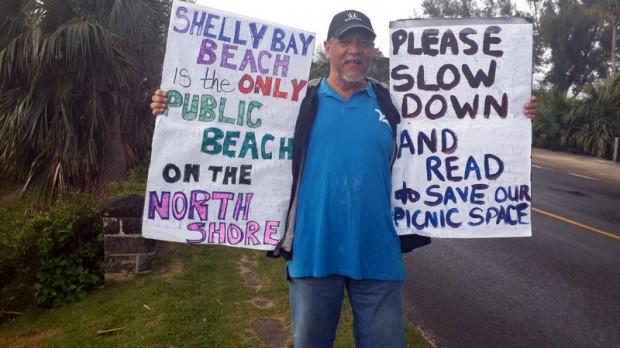shelly bay protest feb 1 2016 (1)