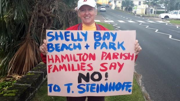 shelly bay protest feb 1 2016 (2)