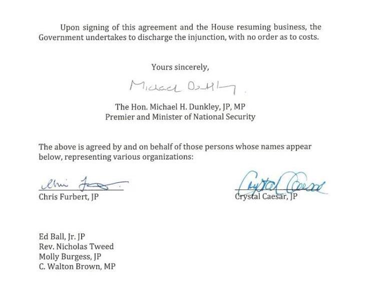 Copy Of Signed Agreement Immigration Reform Bernews