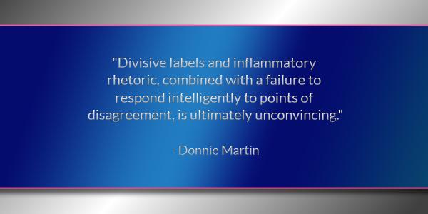 Donnie Martin 160223