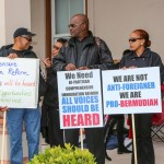 Immigration Protest House Of Assembly Bermuda, March 4 2016-11