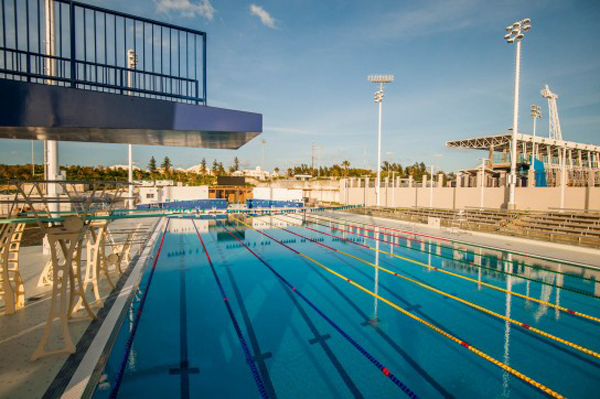 National Sports Centre pool Bermuda March 24 2016