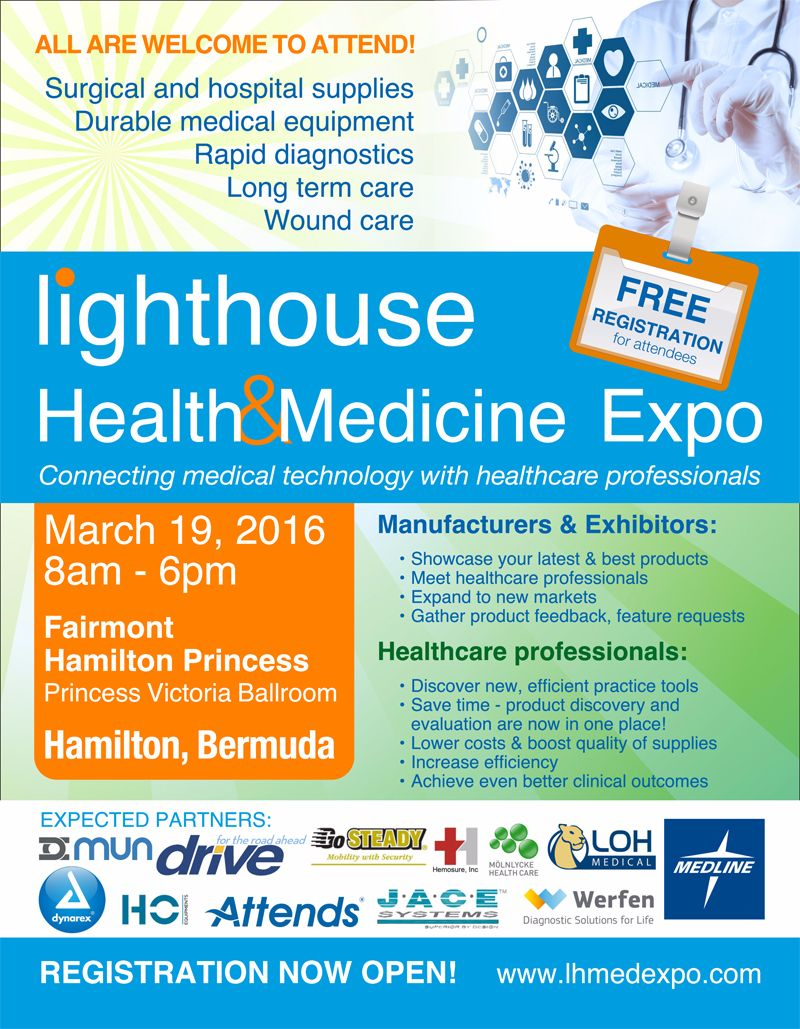 New LHM Expo 2016 Bermuda March 17 2016