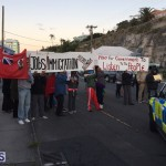 Protesters On East Broadway Bermuda Mar 1 2016 (21)