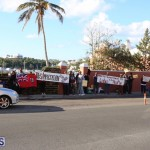 Protesters On East Broadway Bermuda Mar 1 2016 (26)