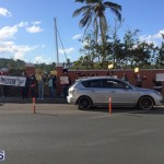 Protesters On East Broadway Bermuda Mar 1 2016 (28)