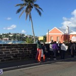 Protesters On East Broadway Bermuda Mar 1 2016 (34)