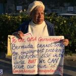 Protesters On East Broadway Bermuda Mar 1 2016 (5)