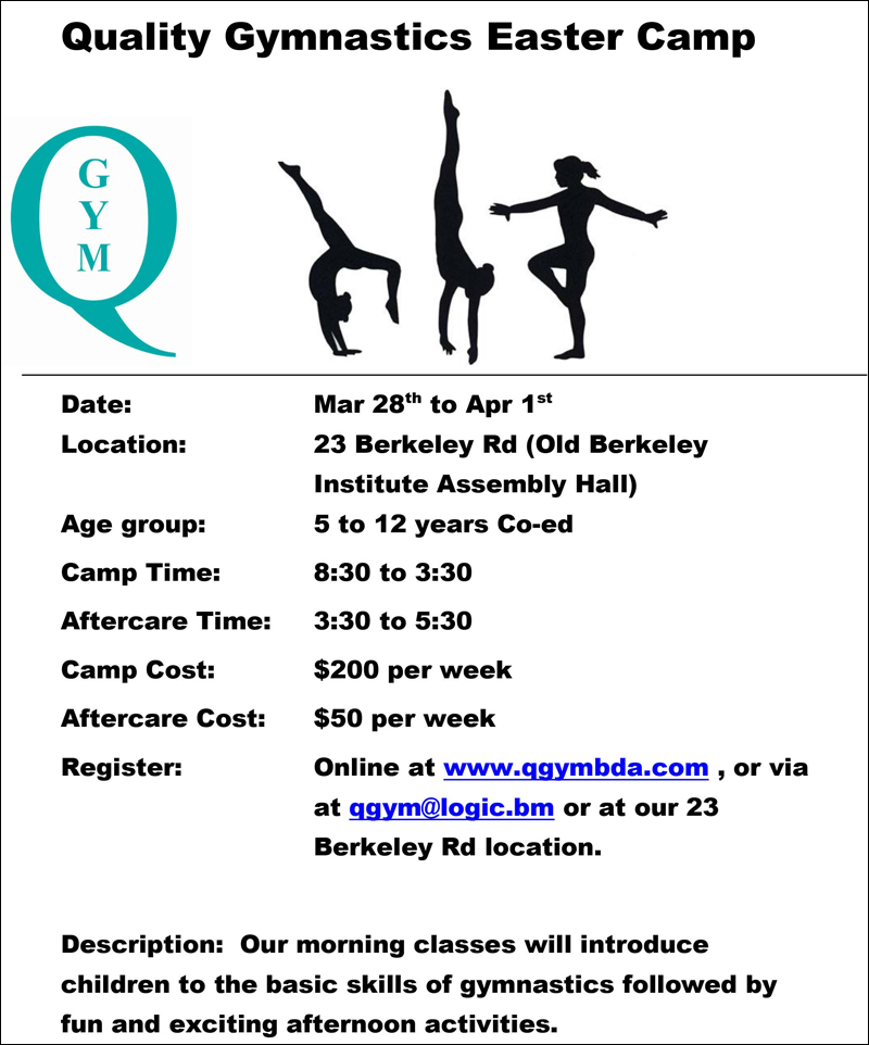 Quality Gymnastics Easter Camp 2016