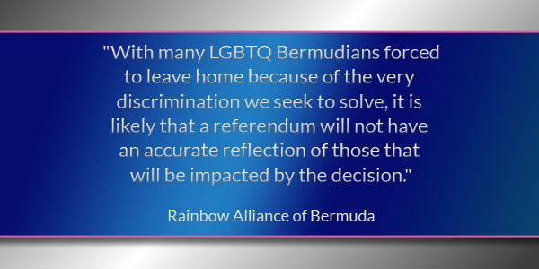 Rainbow Alliance of Bermuda 160301