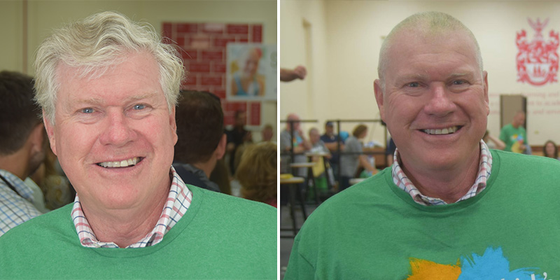 Ted Staunton before after