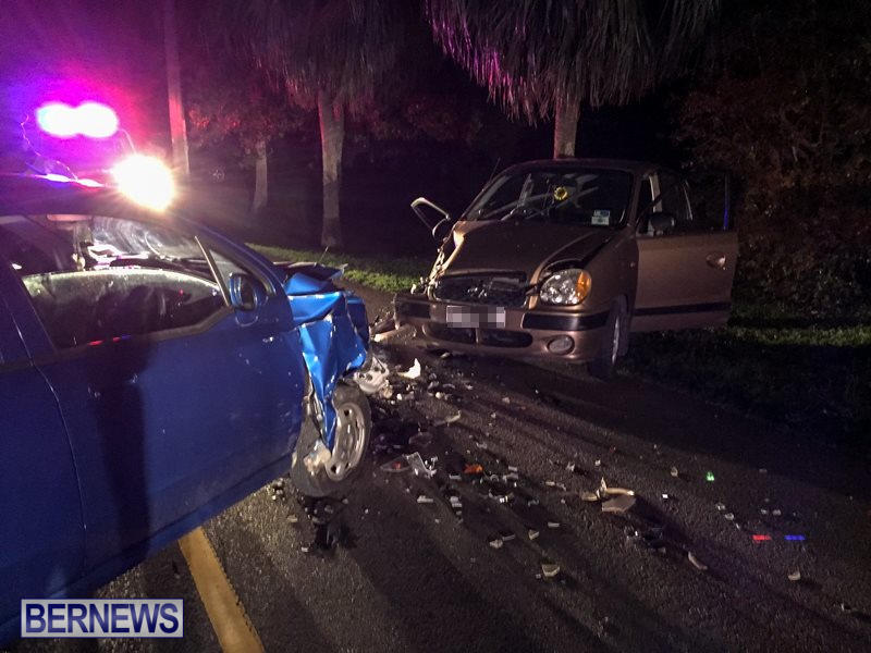 Two Car Accident Bermuda, March 19 2016-2