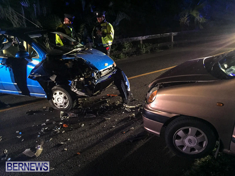 Two Car Accident Bermuda, March 19 2016-3