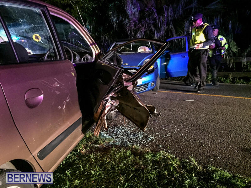 Two Car Accident Bermuda, March 19 2016-4